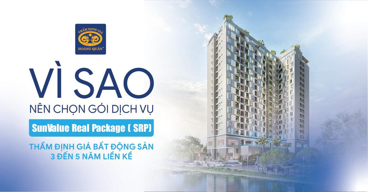 """Vì sao nên chọn gói dịch vụ """"SunValue Real Package ( SRP) –  Thẩm định giá bất động sản 3 đến 5 năm liền kề"""""""
