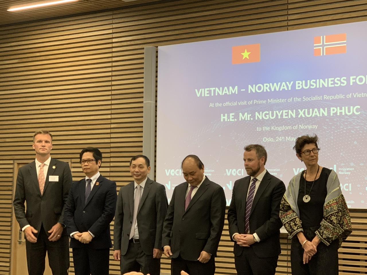 Thẩm định giá Hoàng Quân vinh dự cùng Thủ Tướng Chính Phủ tham dự Diễn đàn Doanh nghiệp Việt Nam - Na Uy