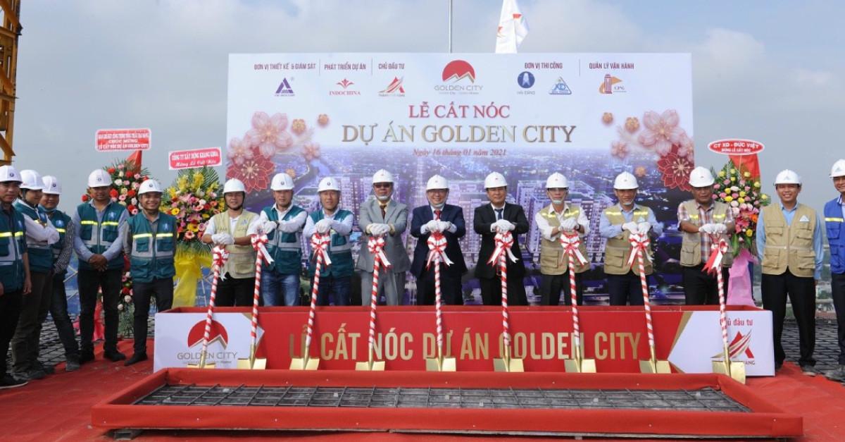 Cất nóc dự án nhà ở xã hội quy mô lớn nhất Tây Ninh
