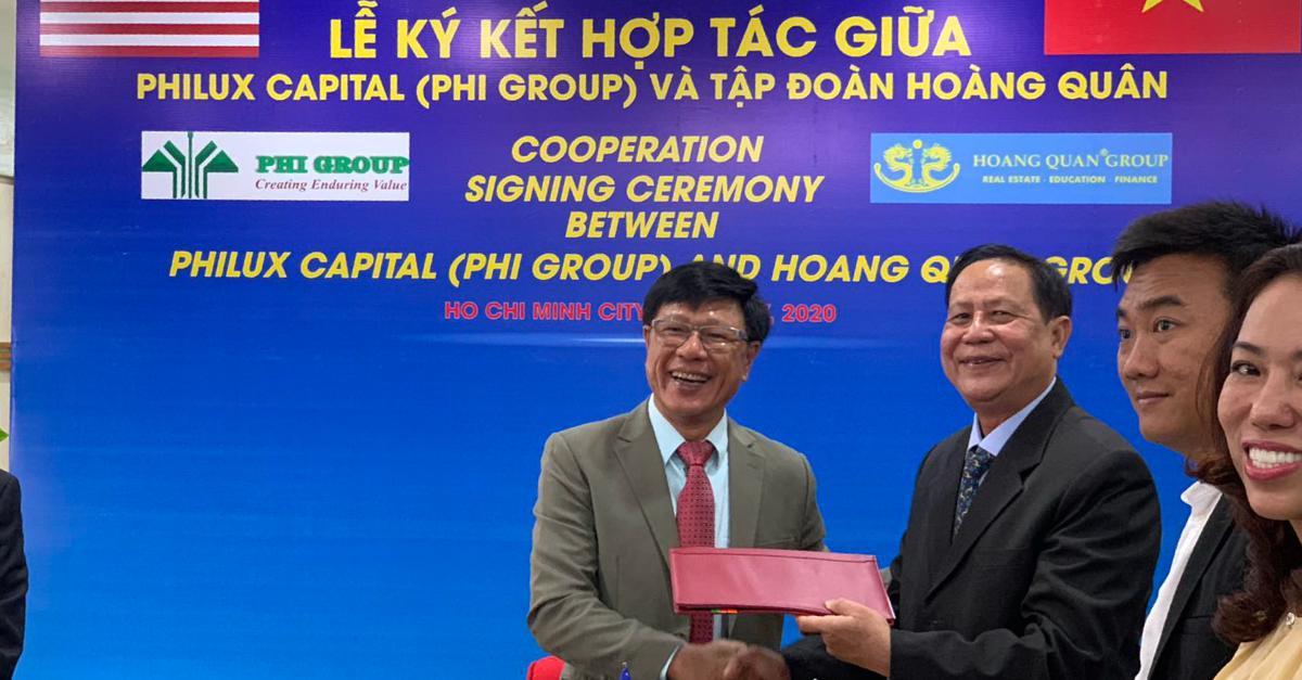 PHILUX Capital Advisors đầu tư 200 triệu USD vào Tập đoàn Hoàng Quân